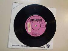 "NICE:(w/Keith Emerson)She Belongs To Me-Same-U.K.7"" 69 Immediate DJ Sampler Only"