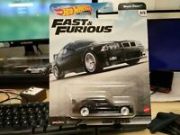 Hot Wheels BMW M3 E36 [Fast & Furious] Black Premium - New/VHTF SEALED UNOPENED