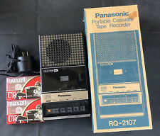 Vintage PANASONIC CASSETTE TAPE RECORDER RQ-2107 Unit works