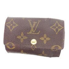 Louis Vuitton key holder Monogram unisex Authentic Used T541