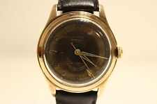 """VINTAGE WW2 ERA MILITARY STYLE SWISS GOLD PLATED MEN'S MECHANICAL WATCH""""ANKER"""""""
