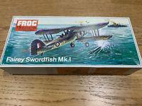 FROG 1/72 Fairey Swordfish MK.1 Airplane Vintage model kit ORIGINAL SEALED