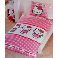 Parures et housses de couette Hello Kitty pour chambre en 100% coton