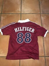 VTG 90s Mens Tommy Hilfiger Sport Outdoors Crest Monogram #88 Soccer Jersey Sz M
