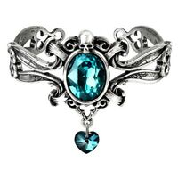 Alchemy Gothic Dogaressa's Last Love Pewter Bangle - Bracelet