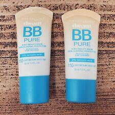 Maybelline Dream BB Pure Sheer Tint Makeup 110 Light Medium 8-in-1 Beauty Balm