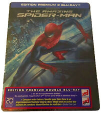 "THE AMAZING SPIDER-MAN BLU-RAY STEELBOOK PREMIUM FIRST EDITION FR 2012  ""RARE"""
