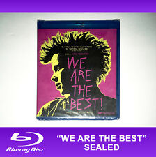 NEW We Are the Best Bluray Disc 2014 80s Girl Teen Punk Music Movie Power UK Fem