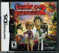Cloudy With A Chance Of Meatballs 2  (Nintendo DS, 2013) Factory Sealed