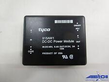 TYCO 915AW1, 15W DC-DC POWER MODULE, IN:DC 48V, .04A, OUT:DC 5V, 3A