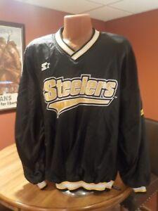 Vintage NFL Starter  PITTSBURGH STEELERS All Weather Pullover Jacket XL