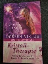 DOREEN VIRTUE Kristall-Therapie - mit der Energie der Kristalle heilen  - NEU