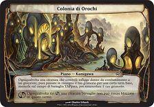 PLANECHASE PLANE PIANO Colonia di Orochi - Orochi Colony MTG MAGIC PCh Ita