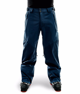 NWT MENS THE NORTH FACE FUSE BRIGANDINE SNOWBOARD PANT $499 L shady blue