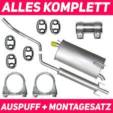 Schalldämpferset Auspuffanlage Auspuff Opel Meriva A 03-10 1.4 Montagesatz