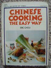 Eric Chou, Chinese Cooking The Easy Way, Corgi Mini-Book, Paperback, 1972