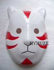 Red Naruto ANBU Cosplay Mask Itachi Kakashi Yamato Cat Style Props