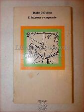 ROMANZO: Italo Calvino, IL BARONE RAMPANTE 1971 Einaudi