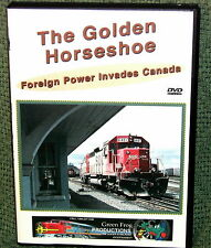"cp098 TRAIN VIDEO DVD ""THE GOLDEN HORSESHOE"" TORONTO CANADA"
