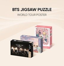 BTS Official Goods JIGSAW Puzzle World Tour Poster 1000pcs + Tracking [Pre]