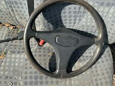 1989 BENTLEY TURBO STEERING WHEEL & CENTRE HORN PUSH BUTTON