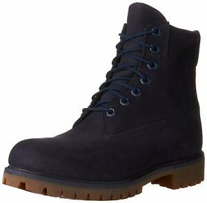 "Men's Timberland 6"" PREMIUM Waterproof Boot, TB06718B 484 Multi Sizes Navy/Blue"