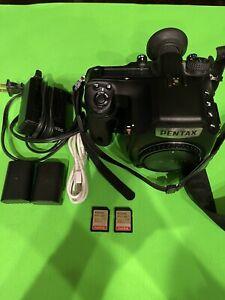 PENTAX 645Z 51.4 MP Digital Camera - Black Plus Extras Shutter Count 44,883