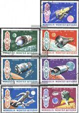 Mongolei 570-576 (kompl.Ausg.) gestempelt 1969 Apollo 12