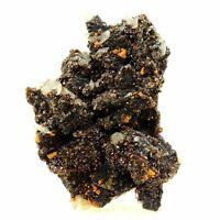 Sphalerit + Calcit. 920.0 Ct. Mine Troya, Land Baskische, Spanien