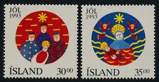 Iceland 777-8 MNH Christmas
