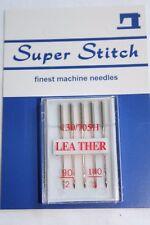 Super Stitch Leather Sewing Machine Needles x5