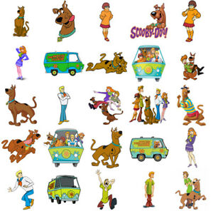 Scooby Doo characters, iron on T shirt transfer. Choose image and size