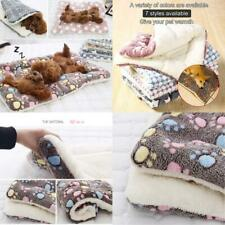 New listing Gfnet Puppy Blanket For Pet Cushion Small Dog Cat Bed Soft Warm Sleep Mat, Pet D