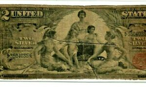 """$2 1896 (EDUCATIONAL)  """"SILVER CERTIFICATE"""" $2 1896 (EDUCATIONAL) NICE NOTE!!!!!"""