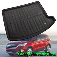 For Ford Kuga 2013- Rear Trunk Boot Mat Liner Cargo Floor Tray Carpet Protector