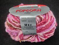 (59 €/kg): 450 Gramm POPCORN,Schoeller+Stahl, Fb. 107 rosa/pink/lila #1915
