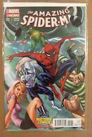 THE AMAZING SPIDER-MAN #1.1 J. SCOTT CAMPBELL MIDTOWN COMICS VARIANT MARVEL NOW!