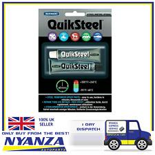 QuikSteel Steel Reinforced Epoxy Paste 2 Part Adhesive High Temperature