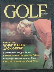 Golf - Jack Nicklaus - 1978 Golf Magazine - Complete