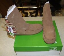 SANUK JULEP BOOTS SIZE WOMENS 8 CHESTNUT FREE SHIPPING NEW IN BOX
