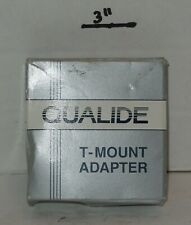 Qualide T-Mount Adapter Photographic Accessories Cannon