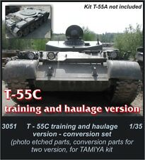 Czech Master 1/35 T-55C training and haulage version for Tamiya kit # 3051