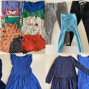 Girls Large Clothing Bundle Leggings Jeans Vests T-shirt Shorts Vests 3-4 Years
