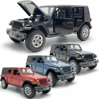 Jeep Wrangler Sahara Rubicon SUV 1:32 Model Car Diecast Gift Toy Vehicle Kids