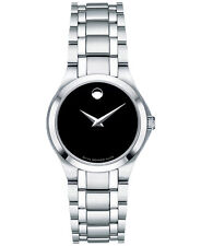 Steel Bracelet Watch 28mm Movado Women's Swiss Collection Stainless