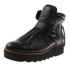 Coach 2714 Womens Urban Hiker Black Wedge Boots Shoes 7.5 Medium (B,M) BHFO