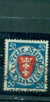 Danzig, Wappen Nr. 200 y b gestempelt BPPgeprüft