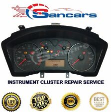 Fiat Stilo Instrument Cluster Clock Dash Speedometer  REPAIR Service 2001-2006