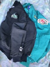 Sacramento Gold Miners Pullover Jacket Vintage Starter 90s CFL Lot Of 2 USA Made