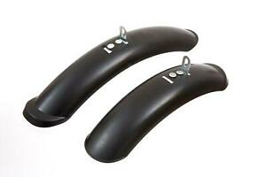 """FIRECLOUD KIDS MUDGUARDS - in Black OVAL design for 12 or 14"""" Wheels CHEAP NEW"""